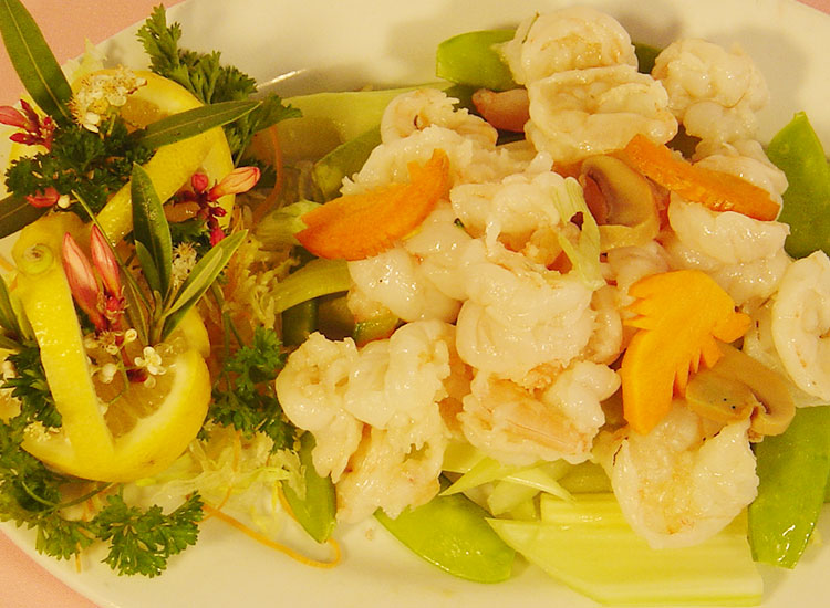 油泡蝦球Stir Fried Shrimp