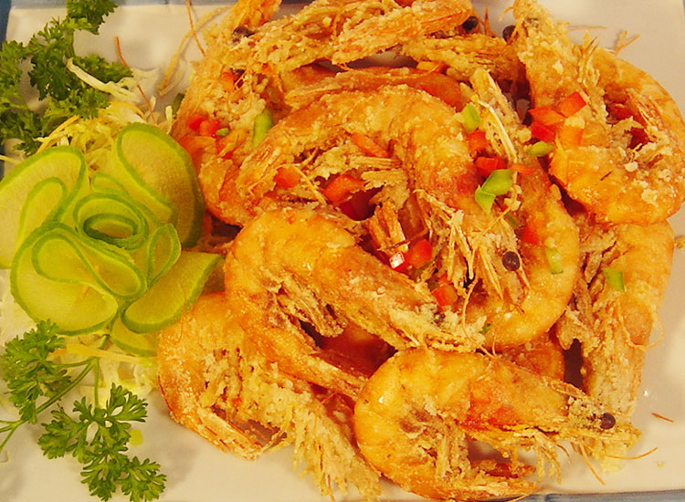 椒盐中蝦 Salt Baked Shrimp