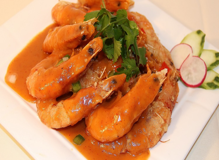 泰王咖哩蝦Thai Style Curry Shrimp